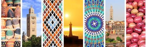 Posti famosi del Marocco Immagini Stock