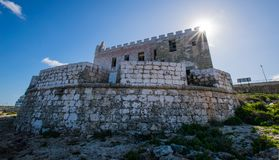 Posti persi a Malta Fotografie Stock