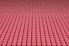 Posti vuoti allo stadio Fotografie Stock