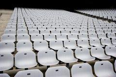 Posti vuoti allo stadio Fotografia Stock