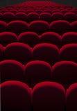 Posti vuoti del teatro Fotografia Stock