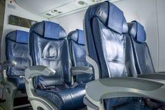 Posti vuoti nell'aereo Immagini Stock Libere da Diritti