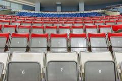 Posti vuoti sull'arena del ghiaccio Fotografie Stock