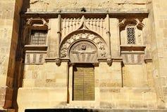 Postigo del Palacio, moskee-Kathedraal van Cordoba, Spanje Royalty-vrije Stock Foto