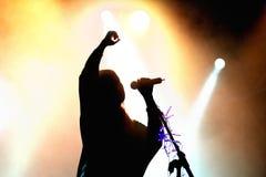 Postiljonen (zespół) wykonuje przy Barcelona Accio musicalem (BAM) Zdjęcie Stock