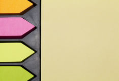 Postit boxset Royalty Free Stock Photography