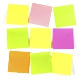 Postit  note Stock Photo