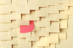 Postit notes Stock Photos