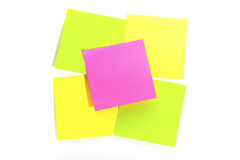 Postit  for reminder note Royalty Free Stock Images