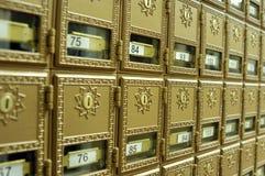 Postkästen 2 Stockbild
