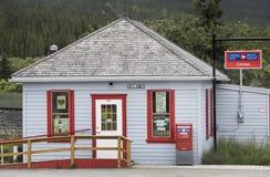 Postkantoor in Carcross Stock Fotografie