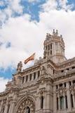 Postkantoor, Madrid, Spanje royalty-vrije stock foto