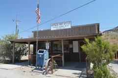 Postkantoor in Oatman op Route 66 royalty-vrije stock afbeeldingen