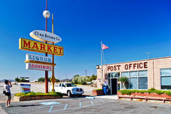 Postkantoor in Shoshone-dorp Royalty-vrije Stock Afbeelding