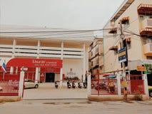 Postkantoor in Thailand royalty-vrije stock afbeeldingen