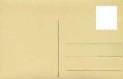 Postkarte lizenzfreie stockfotografie
