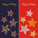Postkarte auf Geburtstag Stockfoto
