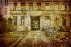 Postkarte aus Deutschland (Serien) lizenzfreie stockbilder