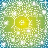 Postkarte des neuen Jahres Stockfotos
