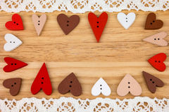 Postkarte für den Valentinsgruß Stockfotos