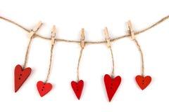 Postkarte für den Valentinsgruß Lizenzfreie Stockbilder