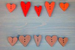 Postkarte für den Valentinsgruß Lizenzfreies Stockbild