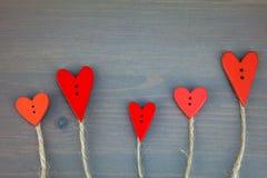 Postkarte für den Valentinsgruß Lizenzfreies Stockfoto
