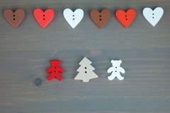 Postkarte für den Valentinsgruß Lizenzfreie Stockfotos