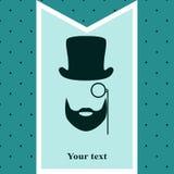Postkarte für Männer Lizenzfreie Stockbilder