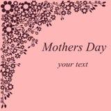 Postkarte für Mutter ` s Tag Lizenzfreie Stockbilder