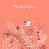 Postkarte-Liebe Lizenzfreies Stockfoto