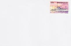 Postkarte von Barbados Stockfoto