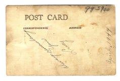 Postkarte von Lucy WWII Lizenzfreies Stockbild