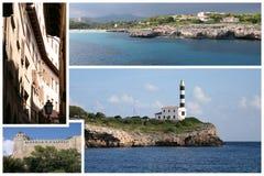 Postkarte von Mallorca Lizenzfreies Stockbild