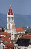 Postkarte von Trogir, Kroatien Lizenzfreie Stockfotos