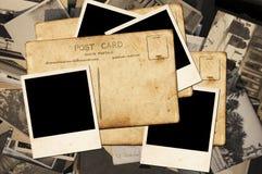 Postkarten und Fotos lizenzfreie stockfotos