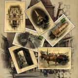 Postkarten von Europa Stockfotos