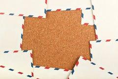 Postkartenrahmen Lizenzfreies Stockfoto