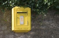 Postkasten Lizenzfreies Stockbild
