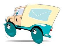 postlastbil Arkivbild