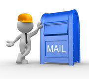 Postman Royalty Free Stock Photos