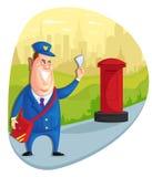 postman ilustração do vetor