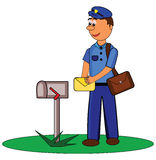 Postman Royalty Free Stock Photo