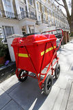 Postman cart Royalty Free Stock Images