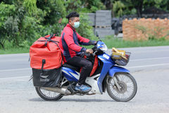 Postman of Thailand Post. Royalty Free Stock Photos