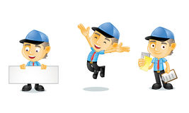 Postman 1. For your business Stock Photo