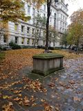 Postmans park in Autumn stock image