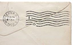 Postmark сбора винограда Стоковое Изображение RF