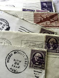1953 postmark letters Royalty Free Stock Image