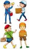Postmaster maschii illustrazione di stock